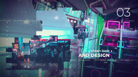 Sci Punk - Digital Promo After Effects Template