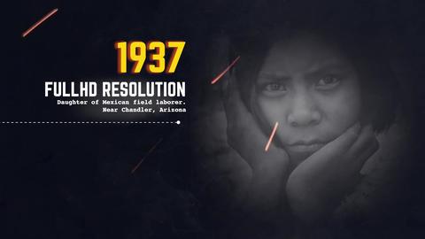 UNI - History Slideshow Premiere Proテンプレート