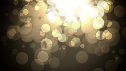 abstract background with bokeh lights Animation