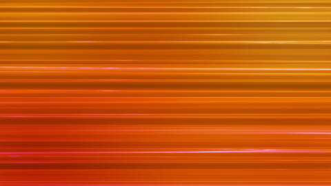 Broadcast Horizontal Hi-Tech Lines, Orange, Abstract, Loopable, 4K Animation