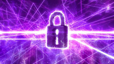 SHA Lock BG Image Violet Animation
