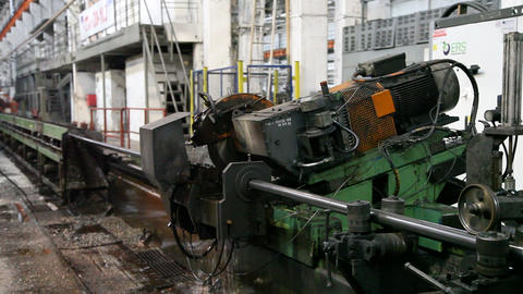 Pipe Cutting Machine Metal Pipe Factory Live Action