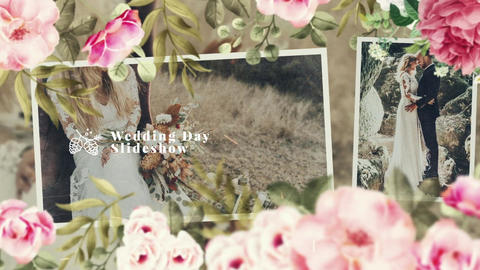 BOHO - Wedding Slideshow After Effectsテンプレート