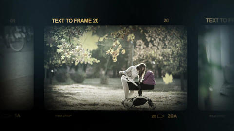 Old Frames After Effects Template