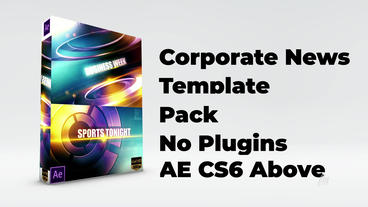 Corporate News Pack After Effects Template