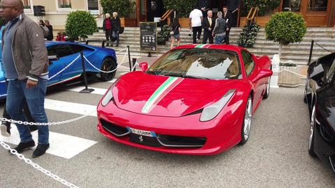 Red Ferrari 458 Speciale GIF