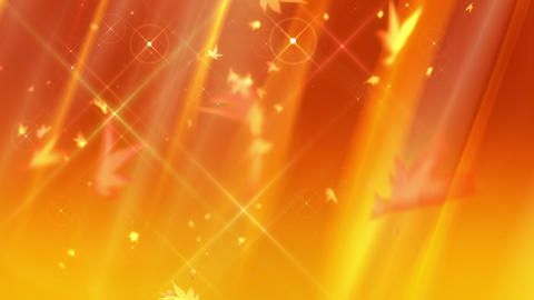 SHA Autumn BG Image Yellow CG動画
