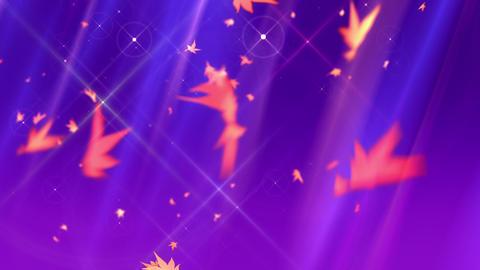 SHA Autumn BG Image Violet Animation