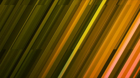 Broadcast Twinkling Slant Hi-Tech Bars, Green, Abstract, Loopable, 4K Animation