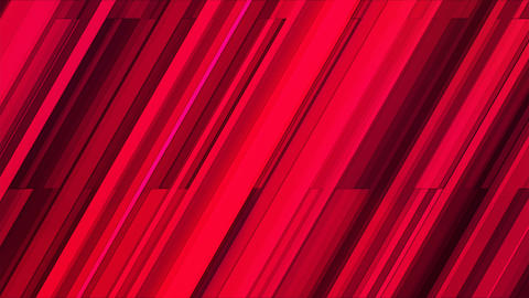 Broadcast Twinkling Slant Hi-Tech Bars, Red, Abstract, Loopable, 4K Animation