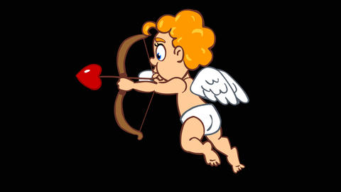 Shooting Cupid Animation