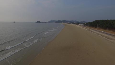Autumn Beach Footage