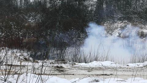 Artillery fire Footage
