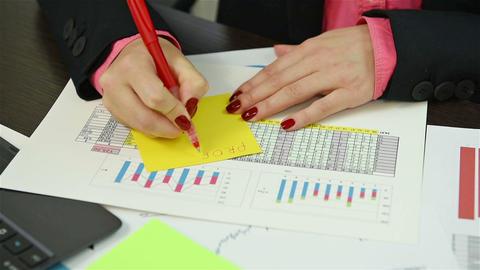 Accountant Calculates Profit Live Action