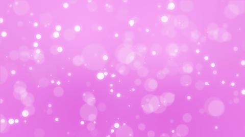 Glowing pink bokeh background Animation