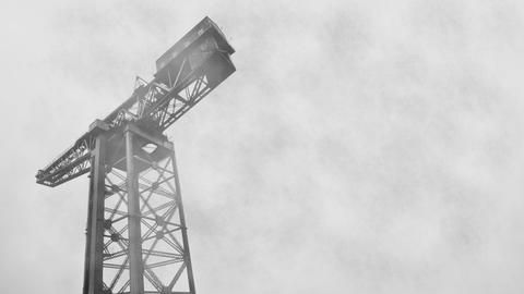 Foggy Crane Animation