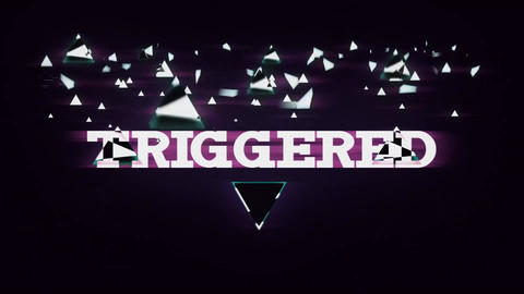 Triggered Title Reveal After Effects Template