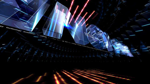 351 3D animated background or logo for technology buisness Animation