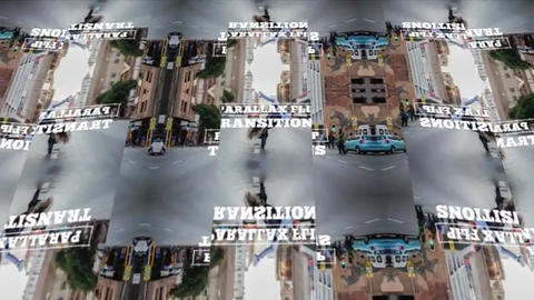 Parallax Flip Transitions Premiere Pro Template