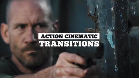 Action Cinematic Transitions Premiere Pro Template