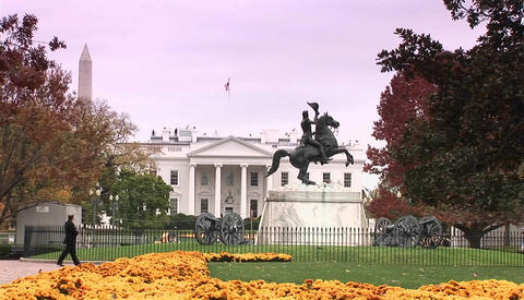 The White House in Washington D.C Footage