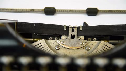 Typewriter Type Blank Sign Live Action