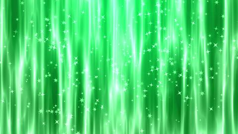 緑色のキラキラ 背景CG動画素材 CG動画