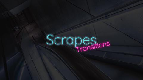 Scrapes Transitions Premiere Pro Template
