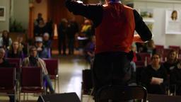 Storyteller at spoken word festival Live Action