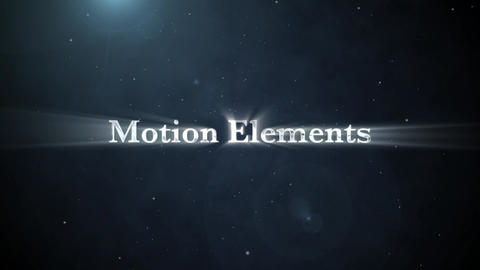 Particle silver title After Effects Template