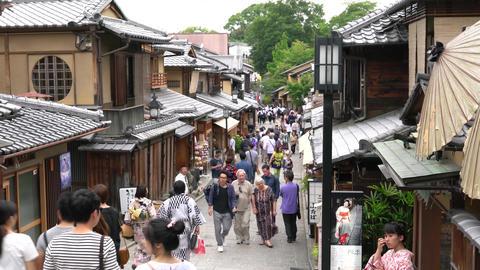 京都二年坂001 Footage