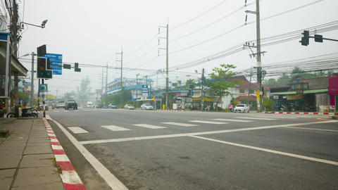 Indonesia fires causing smog in Thailand tourist islands Footage