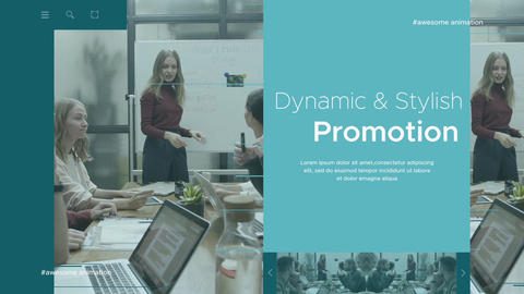 Modern Corporate Intro After Effects Template