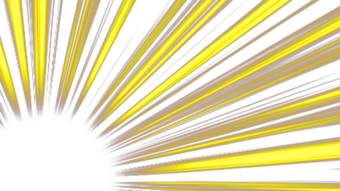 Concentration-line-corner-yellow Animation