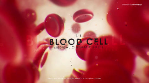 Red Blood Medical Opener After Effects Template