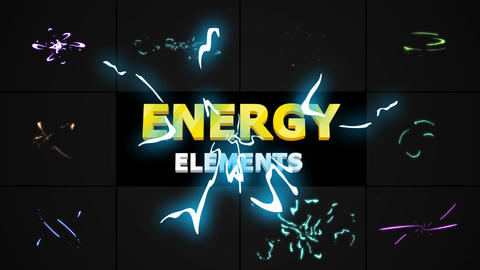 Hand-Drawn Energy Charges After Effects Template