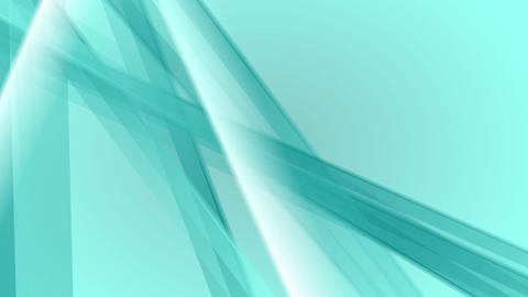 Abstract turquoise video animation with soft stripes Animation