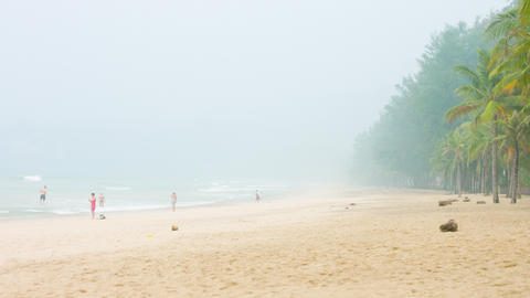 Indonesia fires causing smog in Thailand tourist islands Live Action