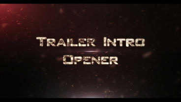 Trailer Intro Ident 2 After Effects Project