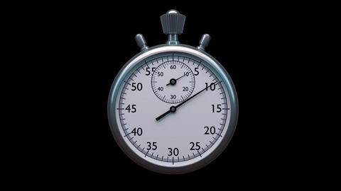 Stopwatch Animation