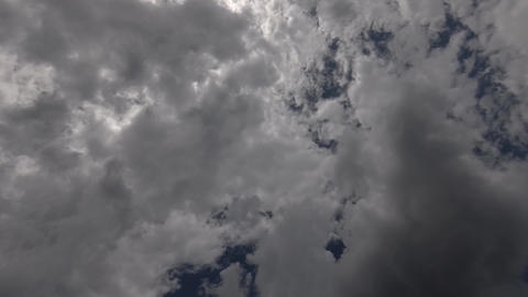 Two Layers Clouds GIF