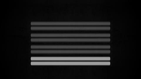 Fluorescent Lights Sequence Single Moving Seamlessly Looping Video Background Animation
