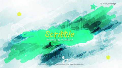 Scribble Show Opener After Effects Template