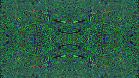 Hypnotizing bad trip effect flare glittering background. Seamless footage Live Action