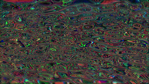 Abstract bad trip effect light transformations holographic background. Seamless Live Action