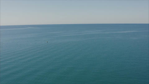 blue sea blue sky horizon. Blue sea Live Action