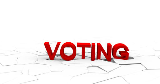 The vote. Election poll ballot. Checkmark icon yes symbol symbol Live Action