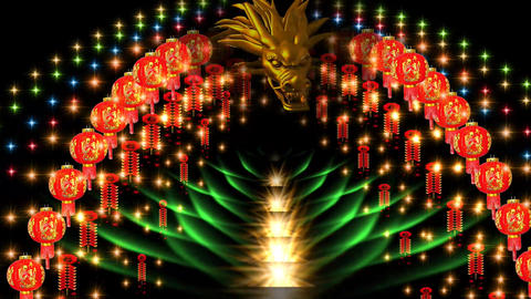 CHINESE NEW YEAR DECORATION Animation