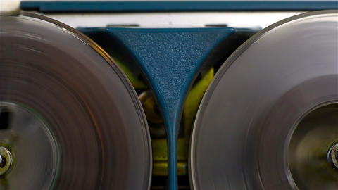 Reel Tape Recorder Footage