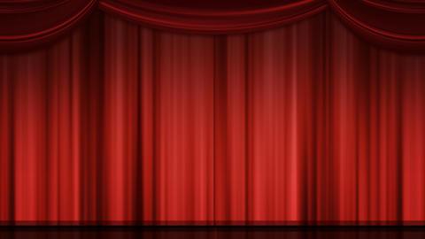 舞台カーテン Animation